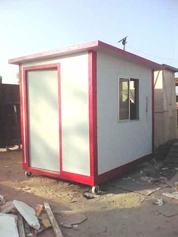 Gi Insulated Guard Cabin