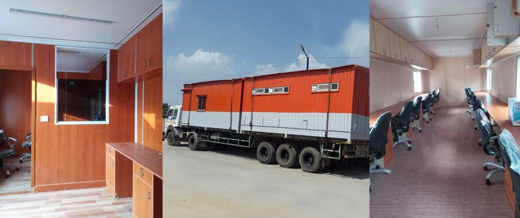 Porta cabins in India