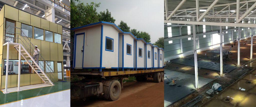 Porta cabins in Delhi