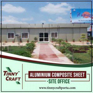 ALUMINIUM COMPOSITE SHEET SITE OFFICE