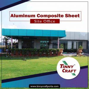 ALUMINUM COMPOSITE SHEET SITE OFFICE