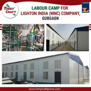 LABOUR CAMP FOR LIGHT ON INDIA MNC COMPANY GURGAON