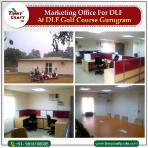 MARKETING OFFICE FOR DL FAT DLF GOLF COURSE GURUGRAM