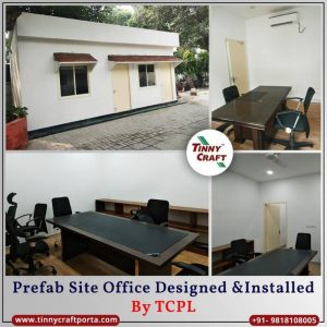 PREFAB SITE OFFICE DESIGNED AND INSTALLED