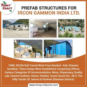 PREFABS TRU CTURES FOR IRCON GAMMON INDIA LTD