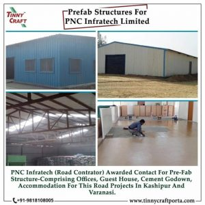 PRE FAB STRUCTURES FOR PNC INFRATECH LIMITED