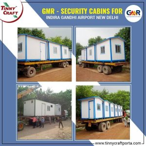 Security Cabins for GMR