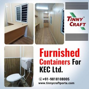 FURNISHED CONTAINERS FOR KEC LTD