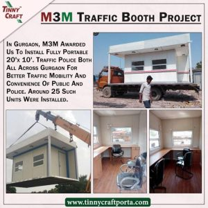 M3M TRAFFIC BOOTH PROJECT