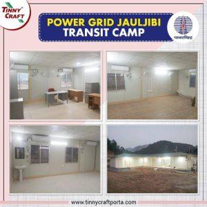 POWER GRID JAULJIBI TRANSIT CAMP