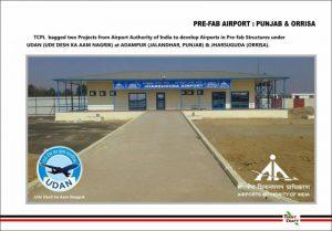 PRE FAB AIRPORT PUNJAB AND ORRISA